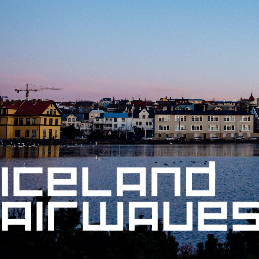 Iceland Airwaves - Looking into Reykjavik from the bay