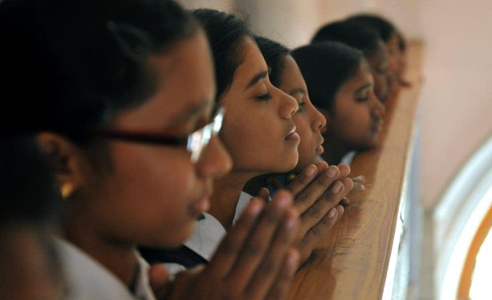 Indian Catholic students