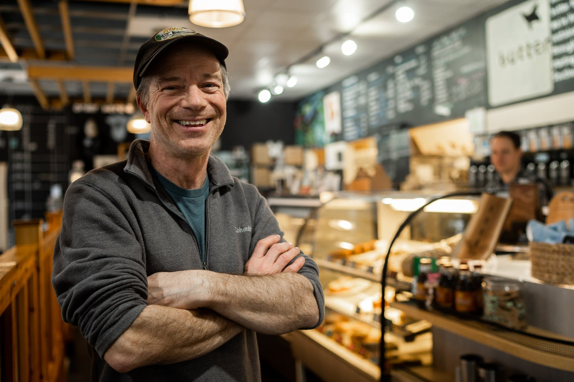 Daniel Swenson-Klatt, owner of Butter Bakery Cafe, stands for a portrait.
