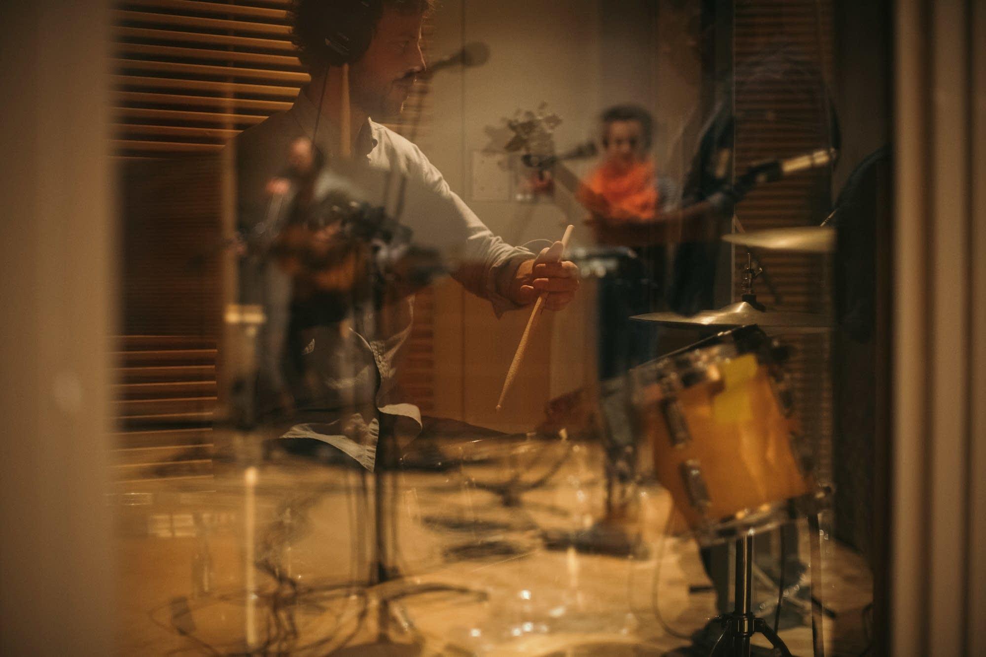 Hiss Golden Messenger perform in The Current studio