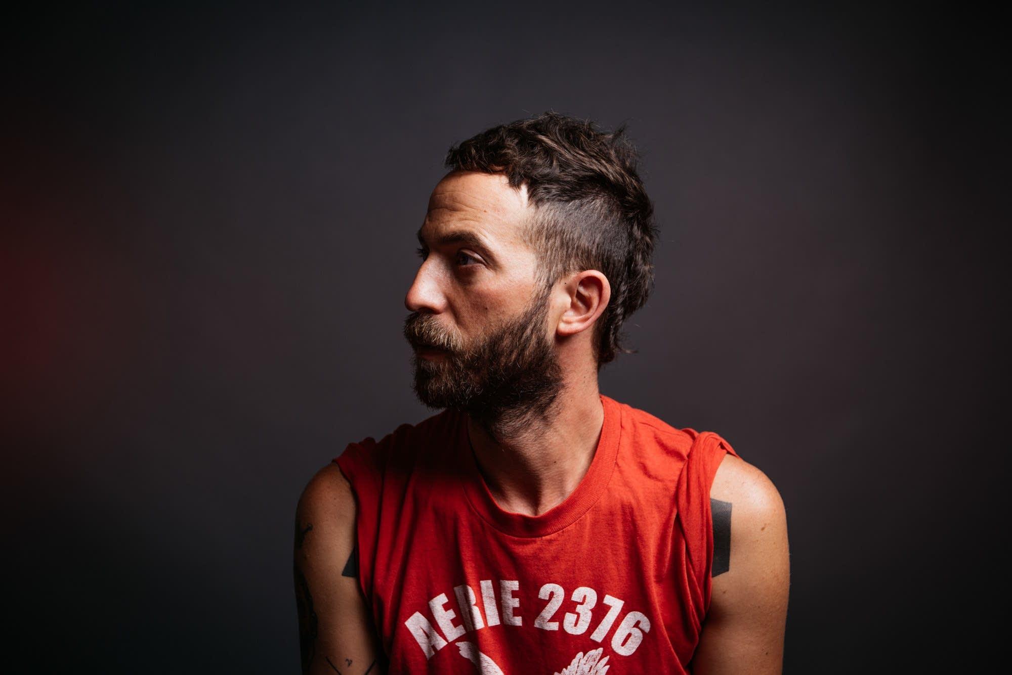 Mondo Cozmo - aka Joshua Ostrander - portrait at The Current