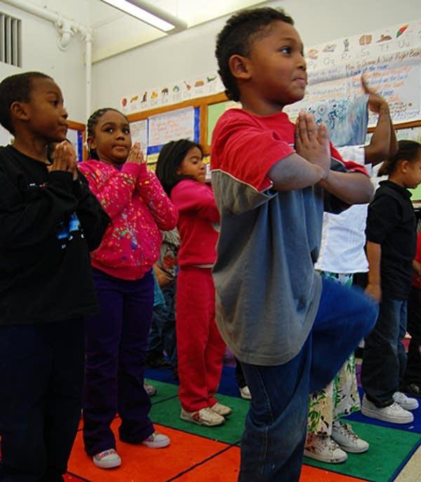 Yoga at Jackson Elementary