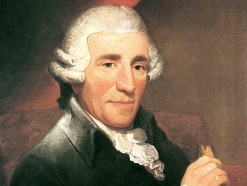 Portrait of Joseph Haydn