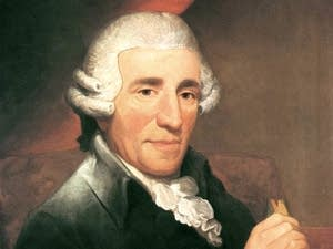 Portrait of Joseph Haydn