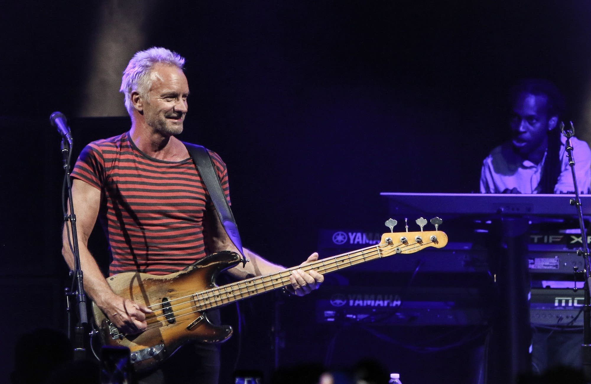 Sting performing in Miami