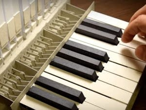 Handmade pipe organ