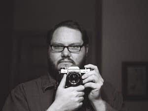 James Cadwell self portrait