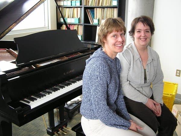 Happy music teachers