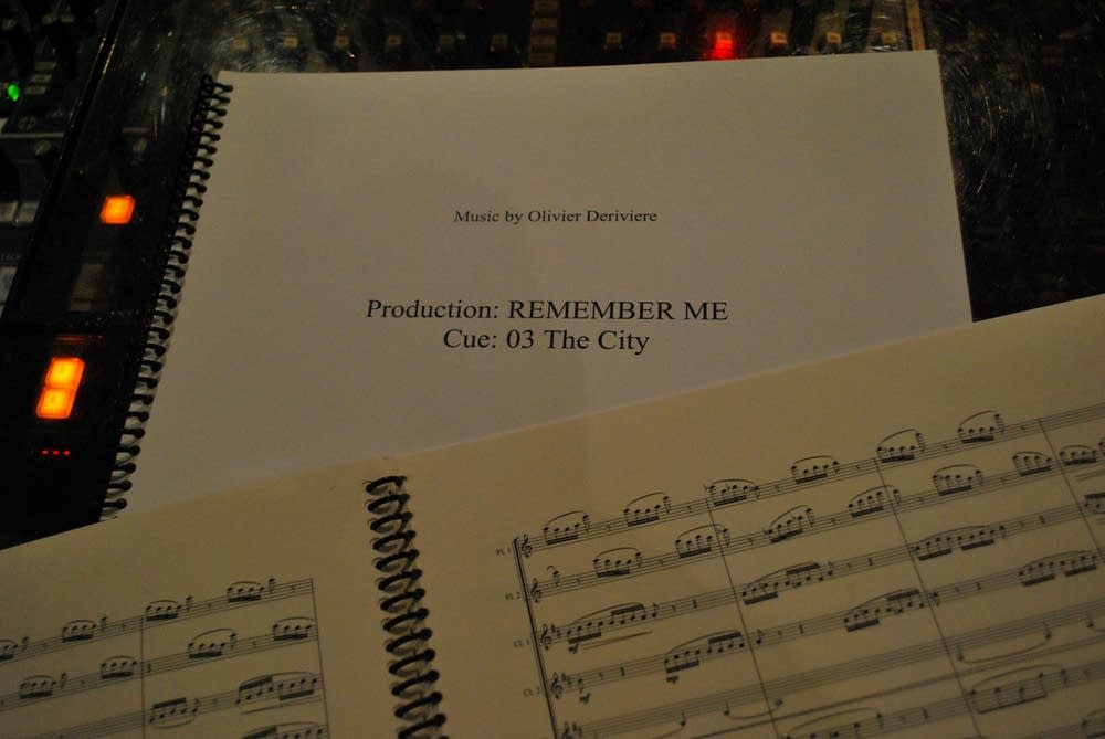"Sheet music from ""Remember Me"""