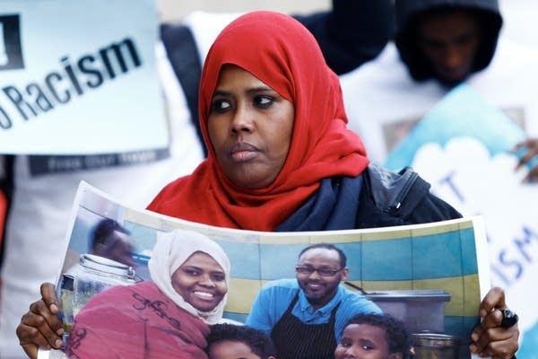 Mohamed Farah's mother