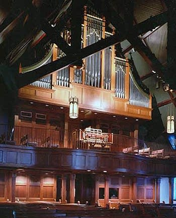 1998 Buzard organ, Opus 20, at Cathedral of Saint Paul, Oklahoma City,...