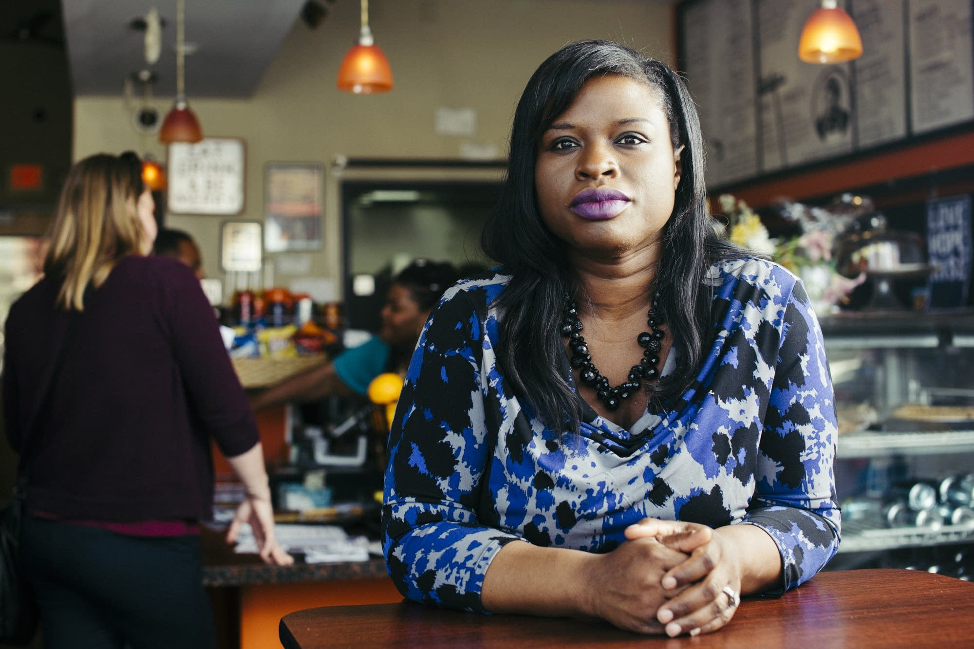 Minneapolis mayoral candidate Nekima Levy-Pounds.