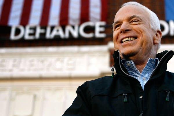 John McCain campaigns in Ohio