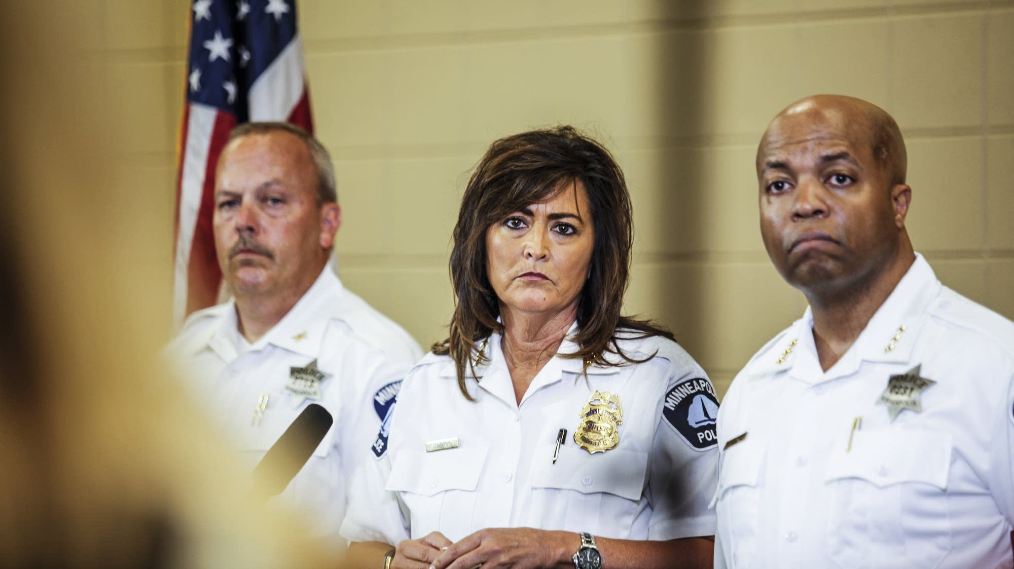 Chief Harteau answers media questions Thursday.