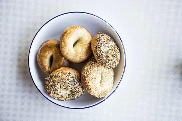 Bagels from Meyvn restaurant