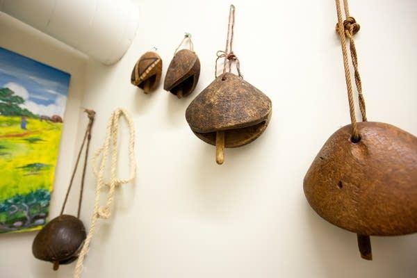 Wooden bells