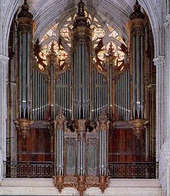 1878 Cavaillé-Coll organ at Bayeux Cathedral, Bayeux, France