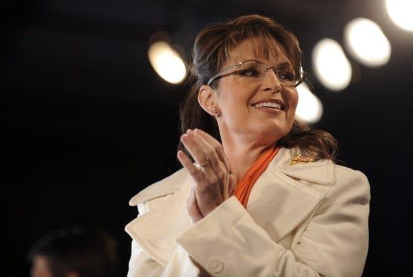 Sarah Palin campaigns in the Pennsylvania