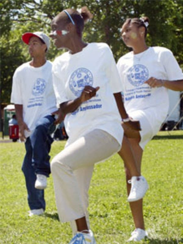 Exercising teens