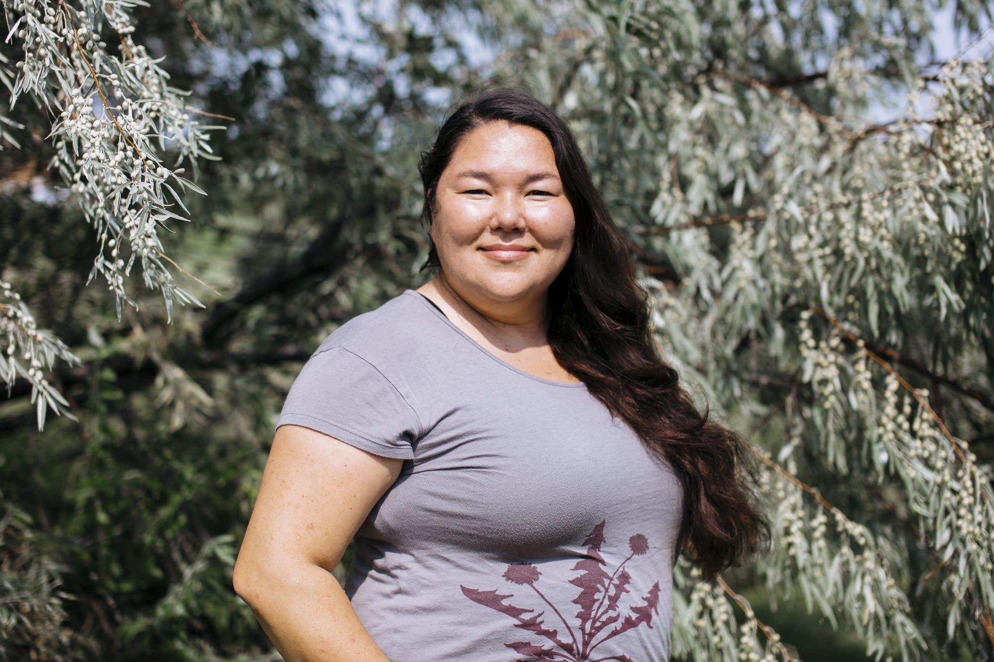 Sitting Bull College professor Linda Black Elk.