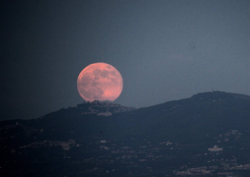 Full Strawberry Moon On Friday The 13th For First Time In 95 Years