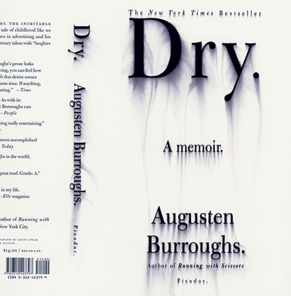"""Dry,"" by Augusten Burroughs. Cover design"
