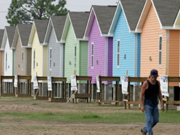 New homes in New Orleans