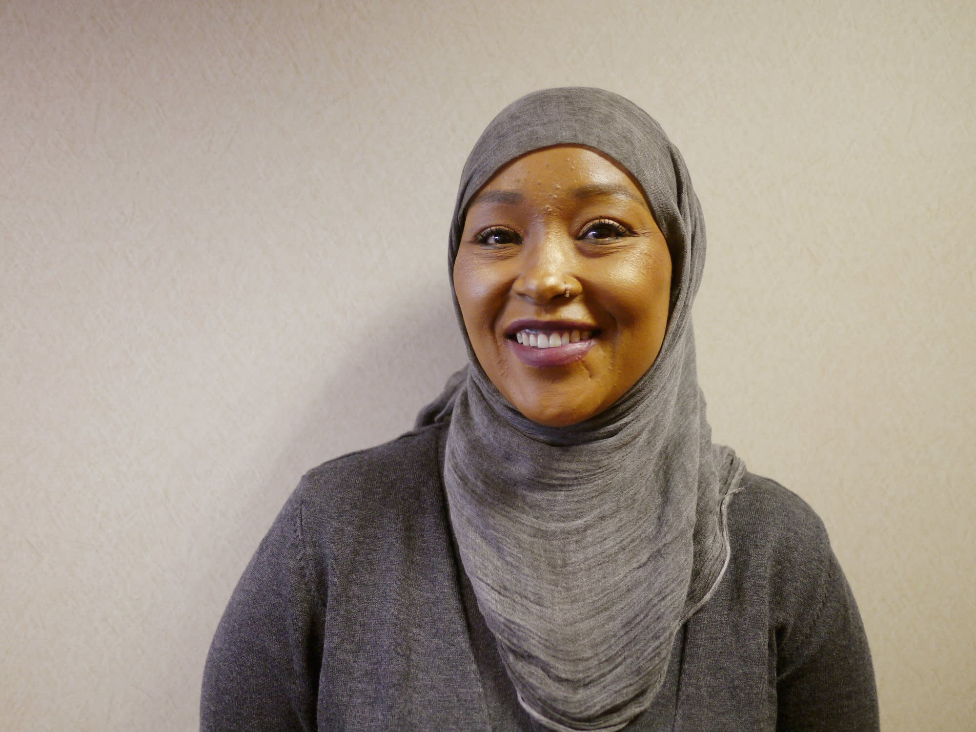 Asma Jama on Monday at Anoka County Courthouse