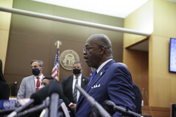 Fulton County District Attorney Paul Howard