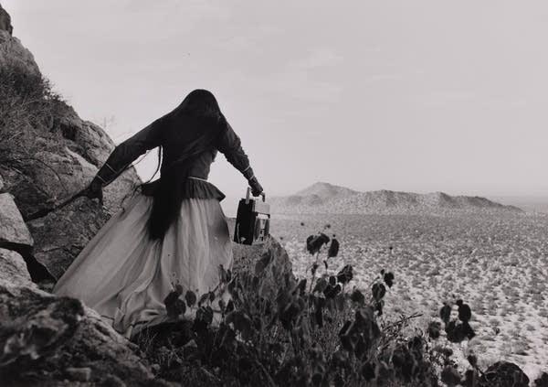 "Graciela Iturbide's ""Mujer Ángel, Desierto de Sonora"""