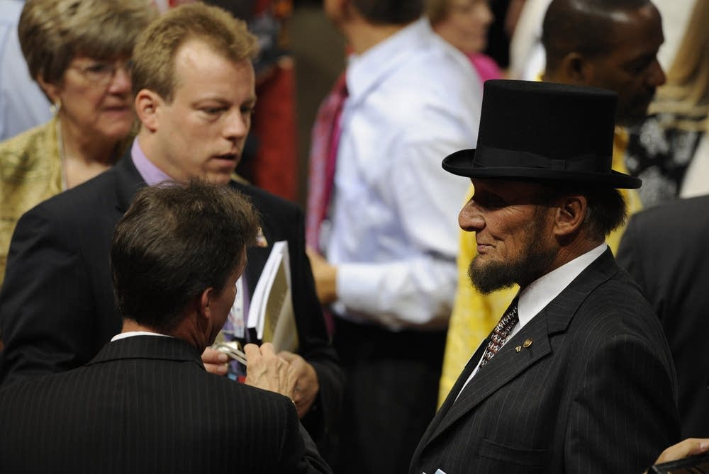 Abraham Lincon at the RNC