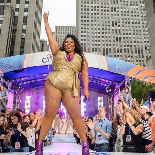 Lizzo performs 'Truth Hurts' on NBC's TODAY show