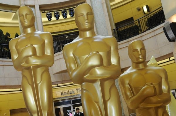 Oscar statues at the Kodak Theatre, whic