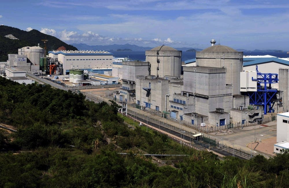 China nuclear power plant