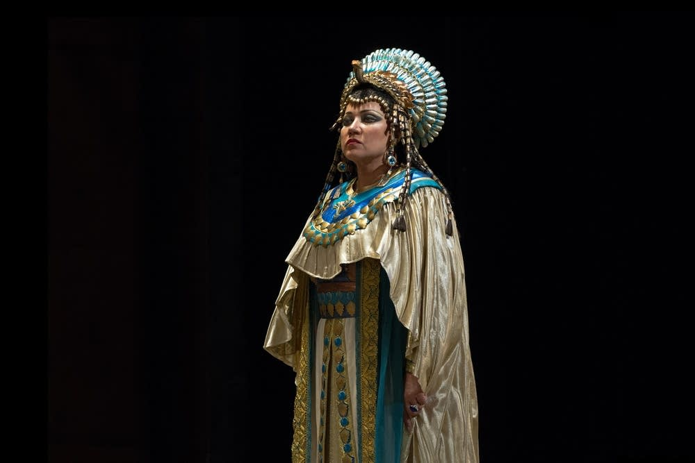Olga Borodina as Amneris in Verdi's