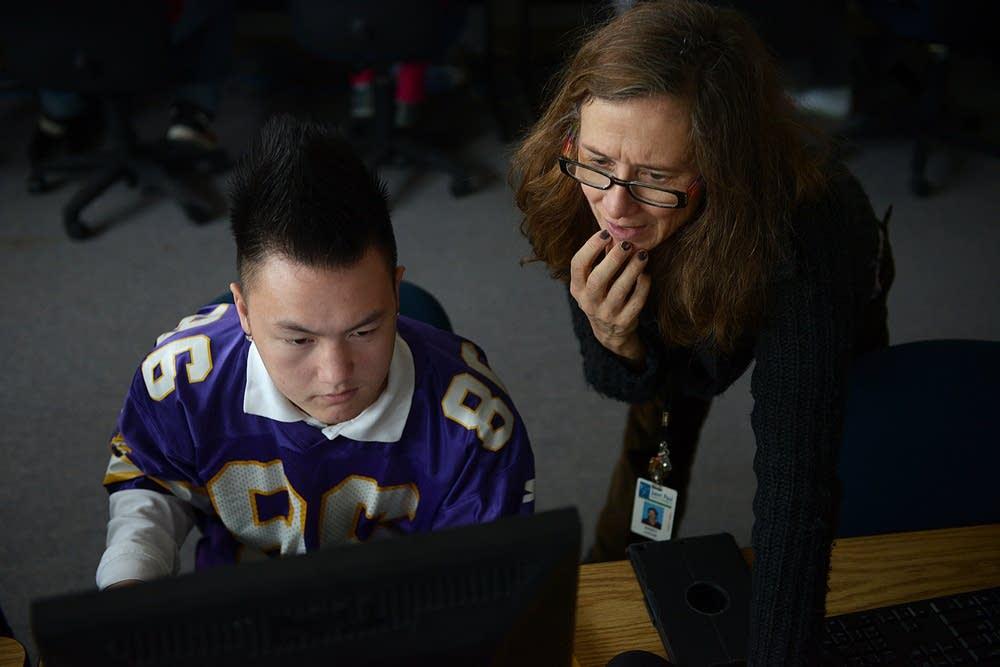 Computer coding lesson