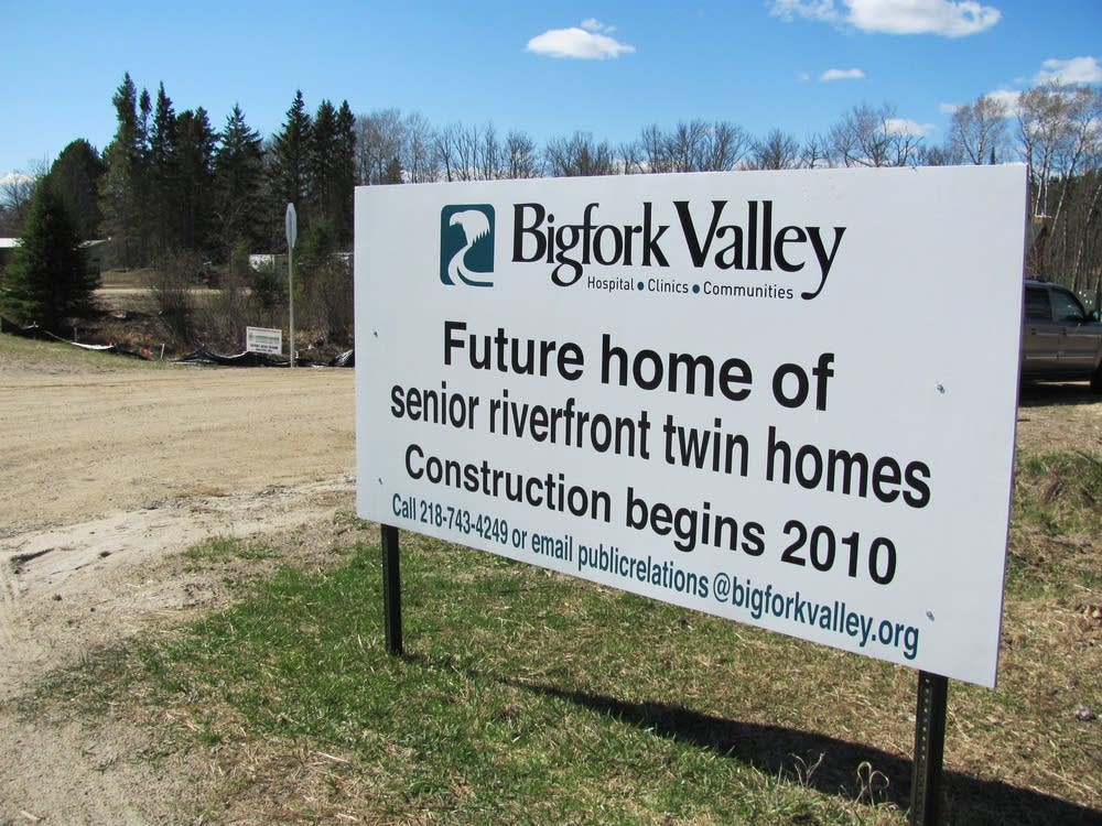 Retirement community construction
