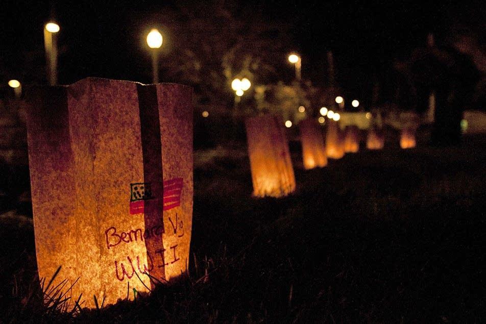Luminary tribute