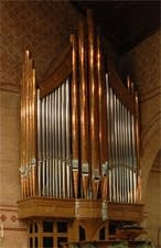 2003 Berghaus organ at St. Stephen's Episcopal Co-Cathedral, Wilkes-Barre, Pennsylvania