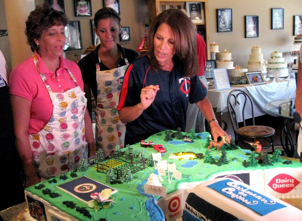 Bachmann at Dorothy Ann Bakery