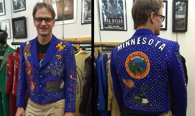Minnesota jacket at Manuels