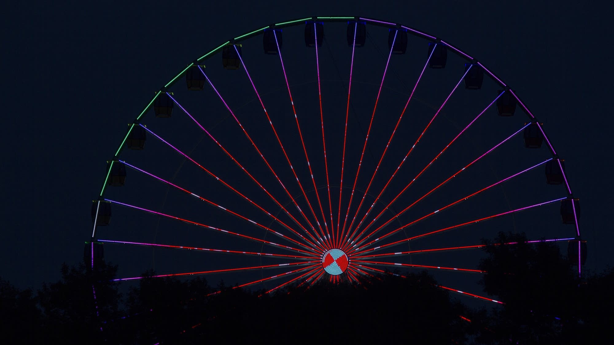 The State Fair's new Ferris Wheel