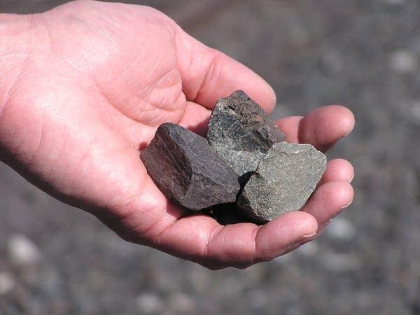 Taconite rocks
