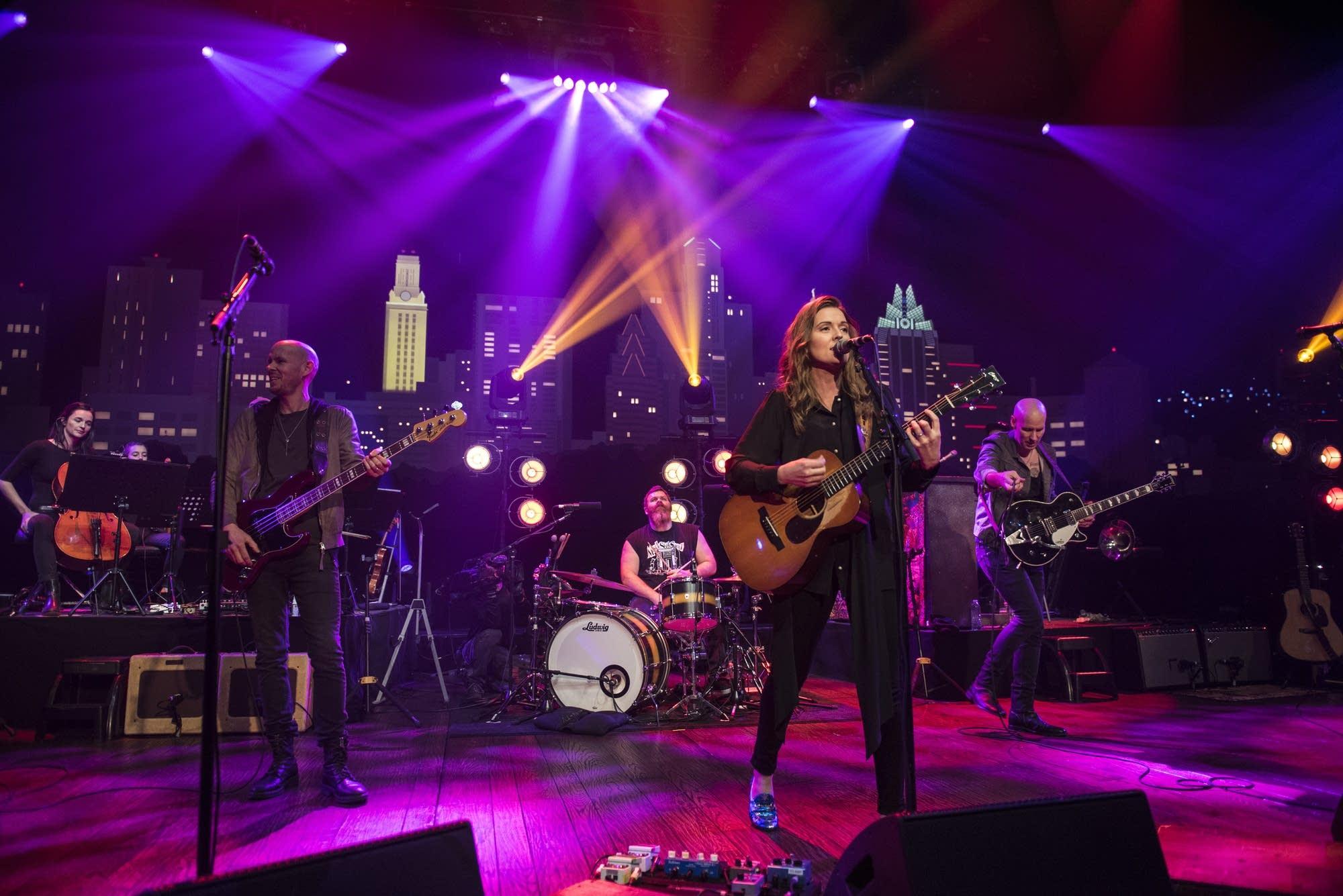 Brandi Carlile performs on 'Austin City Limits'