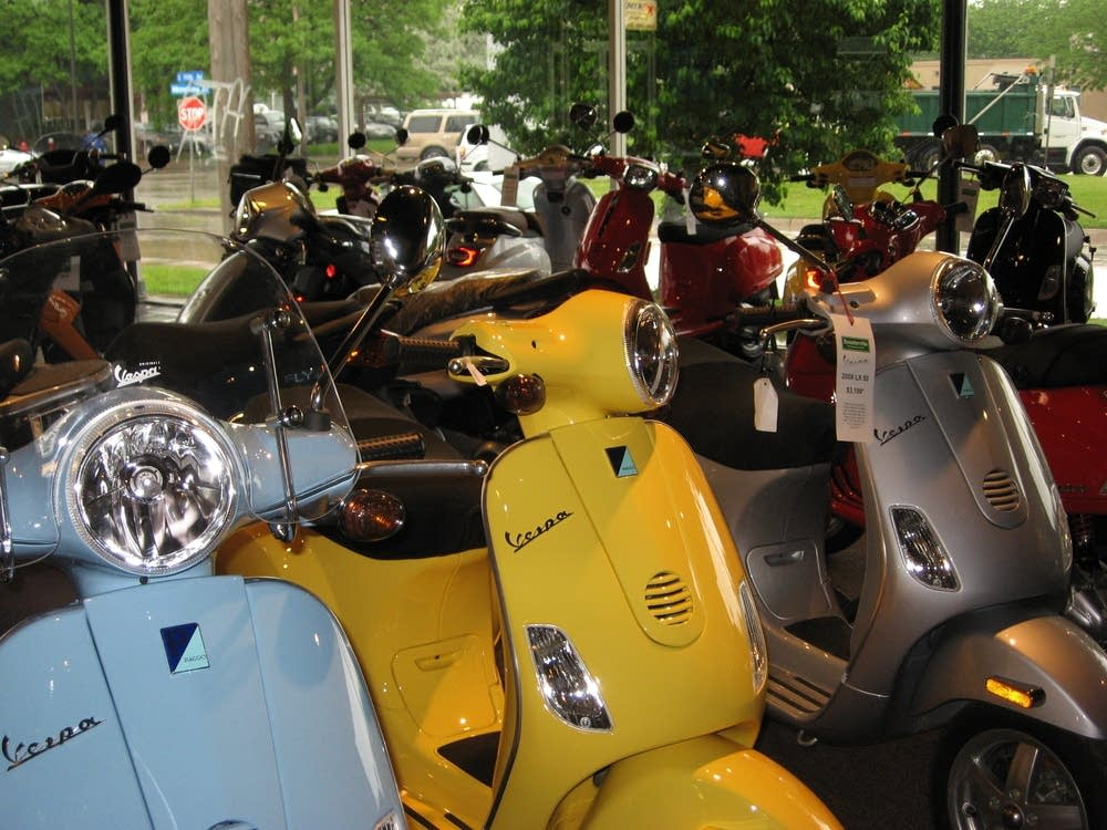 Scooterville Showroom