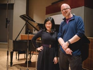 Jenny Chen and Fred Child