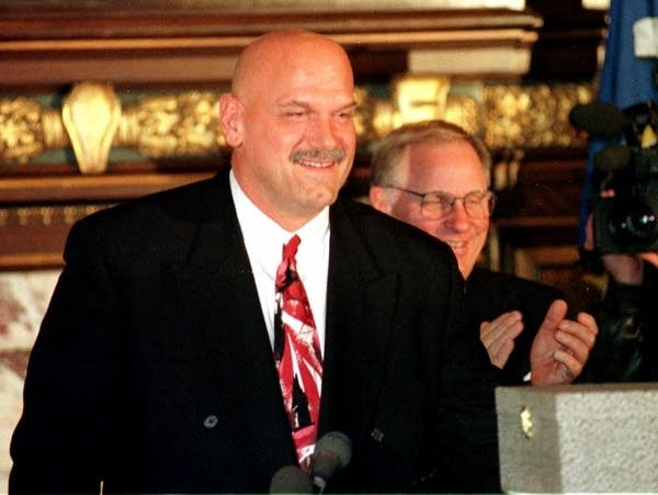 Governor-elect Jesse Ventura in '98