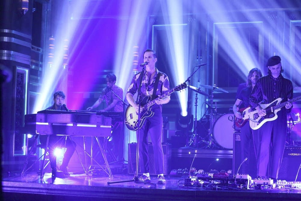 Foster the People perform on 'The Tonight Show Starring Jimmy Fallon'