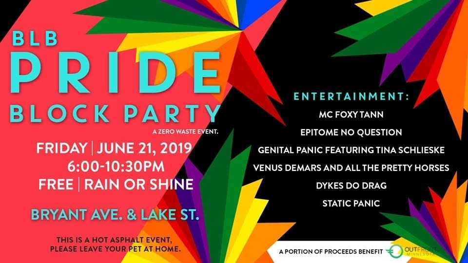 Bryant Lake Bowl Pride Block Party 2019