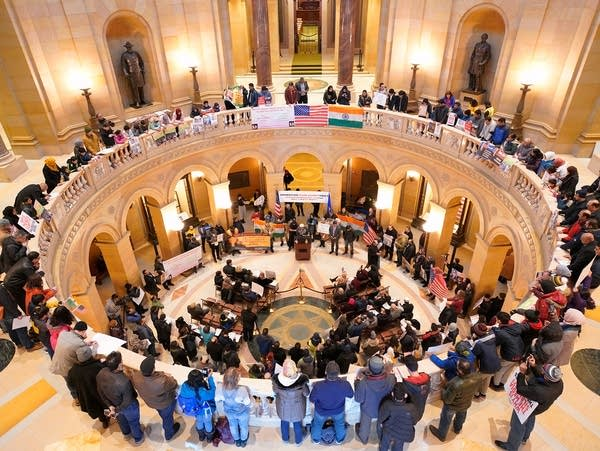 Hundreds at Minnesota Capitol protest India's new citizenship law